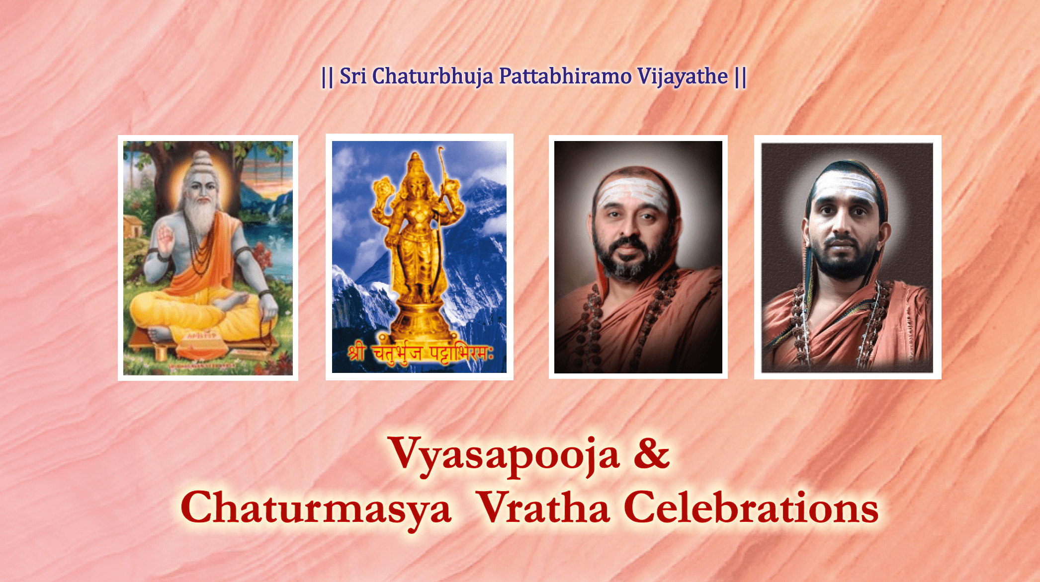 Chaturmasya Vratha Celebrations